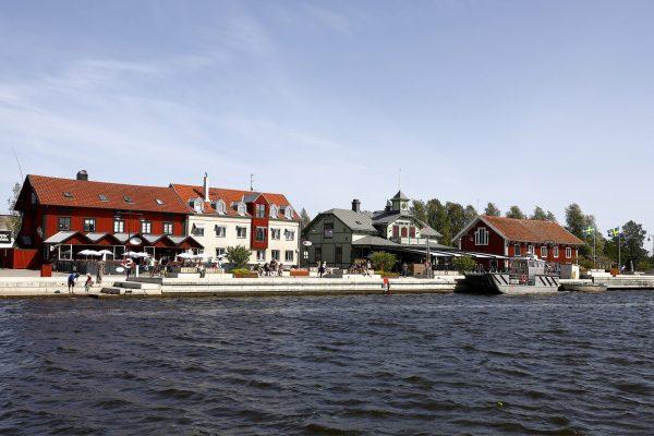 180808 Hamnen den 8 augusti 2018 i Nykšping.   Foto: Peter Holgersson AB
